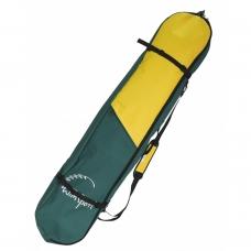 Чехол для сноуборда TIM&SPORT Comfort хаки/жёлтый