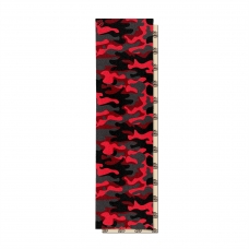 Шкурка для деки Footwork Dip Grip CAMO: RED