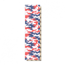 Шкурка для деки Footwork Dip Grip CAMO: TRICOLOR