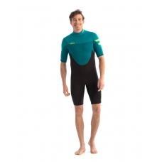 Гидрокостюм Jobe Perth 3/2mm Shorty Wetsuit Men Teal 2021