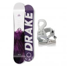 Сноуборд комплект DRAKE CHARM + QUEEN 2021