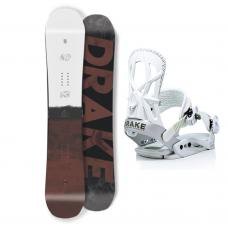 Сноуборд комплект DRAKE DF + FIFTY 2021