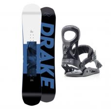 Сноуборд комплект DRAKE LEAGUE + KING 2021