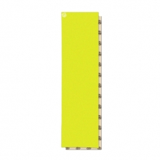 Шкурка для деки Footwork Dip Grip COLORS: SAFETY YELLOW