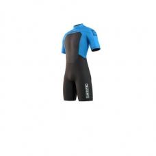 Гидрокостюм MYSTIC 2021 Brand Shorty 3/2mm Bzip Global Blue