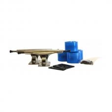 Комплект для лонгборда PLANK BLUE/SILVER