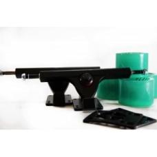 Комплект для лонгборда PLANK GREEN/BLACK