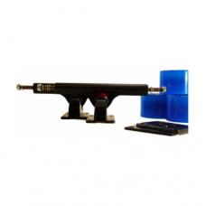 Комплект для лонгборда PLANK BLUE/BLACK