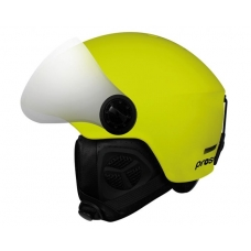 Детский шлем PROSURF UNICOLOR VISOR 2021 MAT YELLOW