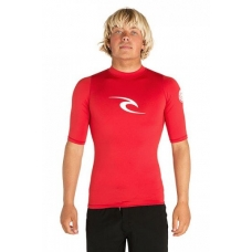 Гидромайка RIP CURL CORPO UV TEE 40 RED