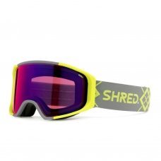 Маска SHRED SIMPLIFY BIGSHOW YELLOW + CBL SKY MIRROR