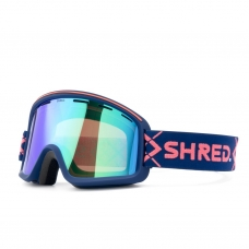 Маска SHRED MONOCLE BIGSHOW NAVY - CBL PLASMA MIRROR