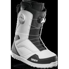 Ботинки для сноуборда THIRTY TWO STW DOUBLE BOA 2021 BLACK/WHITE